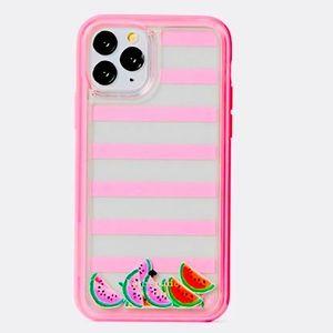 🆕 Kate Spade watermelon liquid iphone 11 pro case